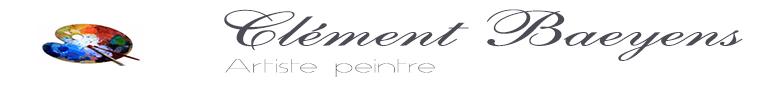 Clément Baeyens, Artiste peintre - logo