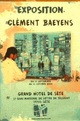 Clement Baeyens - Exposition Septembre Octobre 2016