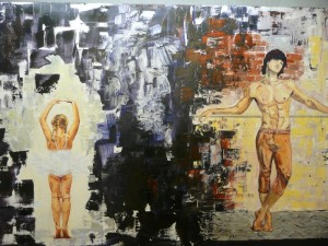 Clin d'oeil à Degas - Clément Baeyens