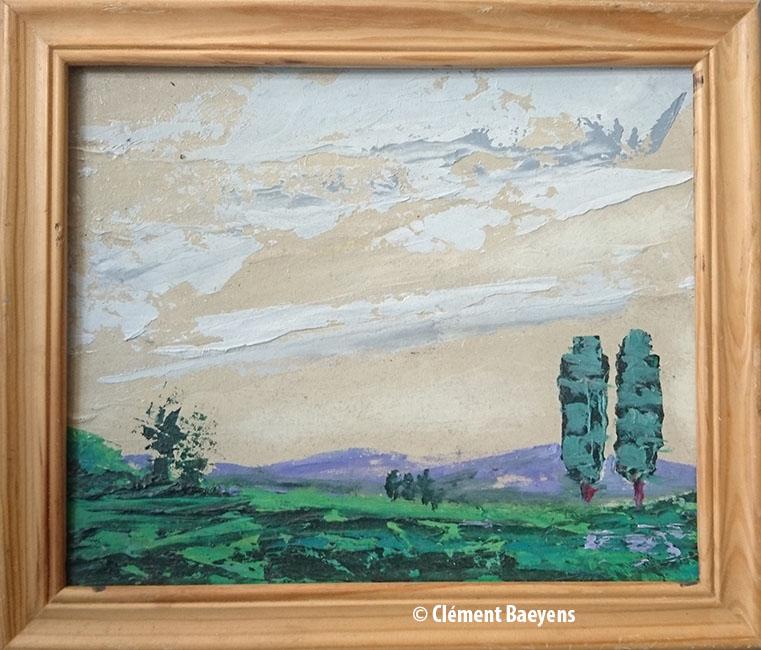 Paysage - Clément Baeyens
